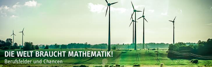 Die Welt braucht Mathematik!
